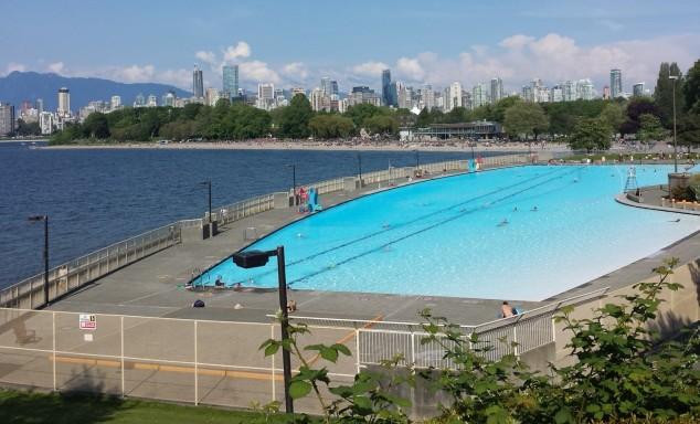 Kitsilano Pool, Vancouver BC