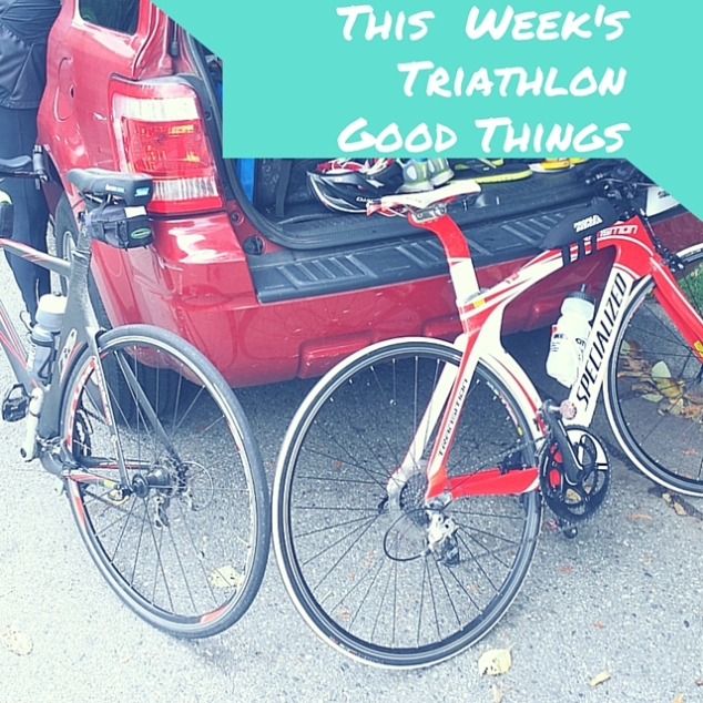 This Week's Triathlon Good Things